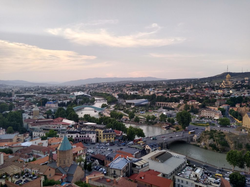 Tbilisi City View