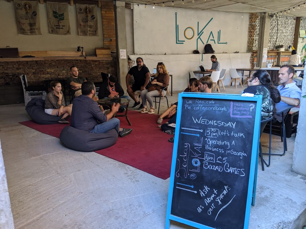 Community event at LOKAL